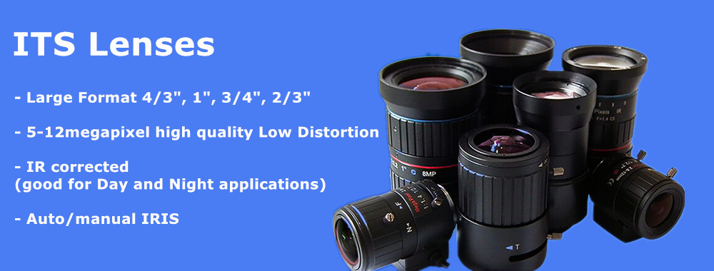 China best Traffic Monitoring Lenses/ITS Lenses on sales