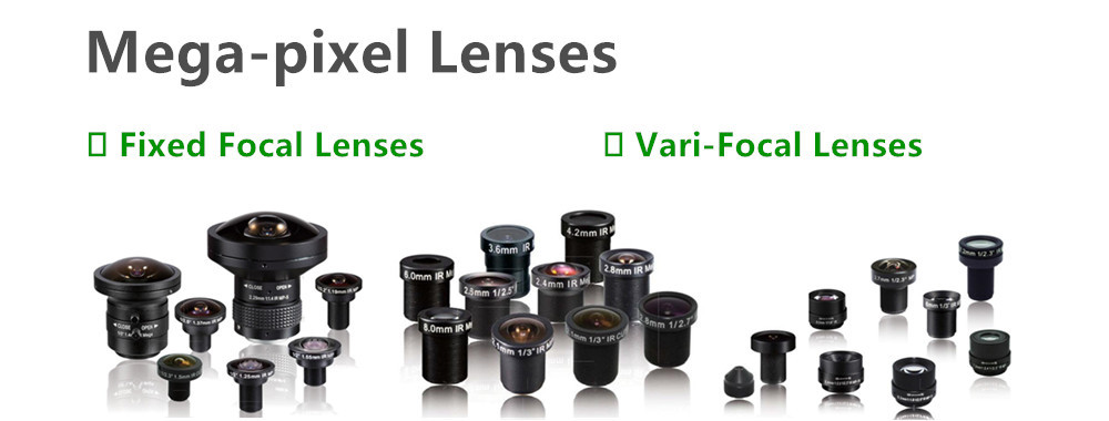 China best Megapixel Low Distortion Lenses on sales