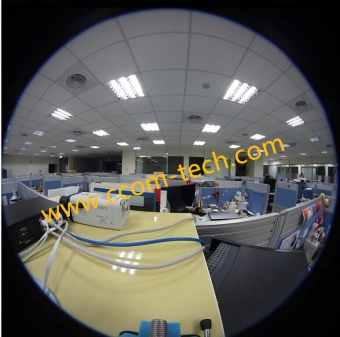 "1/2.3"" 1.5mm 10Megapixel S mount M12 180degree Fisheye Lens for IMX172 MT9F002, Drone UAV 360VR lens"