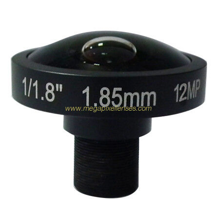 "Super high resolution megapixel fisheye lens for big format 1/1.7"" 1/1.8"" sensors"