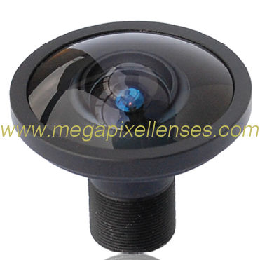 "1/2"" 1.58mm 10Megapixel M12X0.5 mount 192degrees Fisheye Lens"