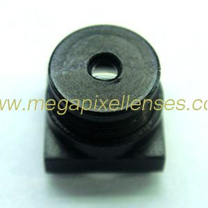"1/3"" 4.3mm F2.8 Megapixel M7x0.35 mount non-distortion lens, 4.3mm M7 metal lens"
