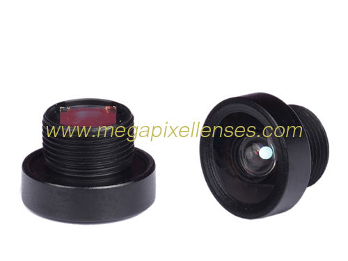 "1/4"" 2.2mm Megapixel F2.0 M8*0.5P mount low-distortion cctv lens"