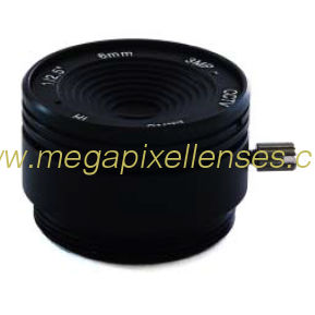 "1/2.5"" 6mm F1.8 3Megapixel CS mount IR CCTV Lens 1250618IRCS-3MP2"