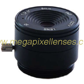 "1/2.5"" 8mm F1.8 3Megapixel CS-mount IR CCTV Lens 1250818IRCS-3MP"