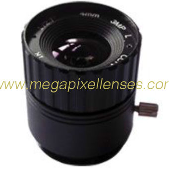 "1/2.7"" 4mm F1.6 3Megapixel CS-mount IR CCTV Lens 1270416IRCS-3MP"