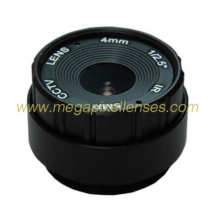 "1/2.5"" 4mm F2.0 5Megapixel CS-mount IR CCTV Lens for security camera"