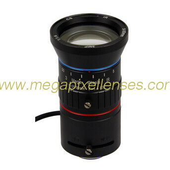 "1/2.7"" 5-50mm F1.4 3Megapixel CS-mount Manual IRIS/DC Auto IRIS Manual Zoom IR Vari-focal Lens"