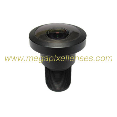 "1/3"" 1.45mm F1.8 6Megapixel M12x0.5 mount 184degree Fisheye Lens, 1.45mm fisheye lens for 360VR"