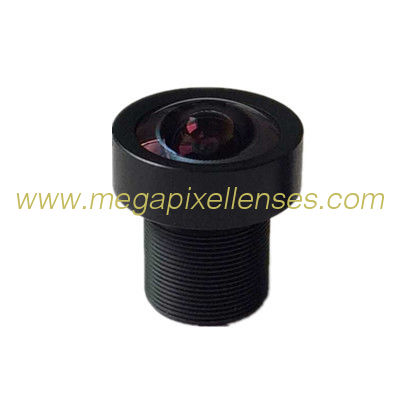 "1/2.3"" 2.8mm F2.5 16Megapixel M12x0.5 Mount 150degree wide angle lens, AR1820HS lens"