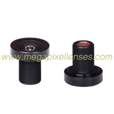 "1/4"" 2.05mm 5Megapixel M8*0.5 mount 140degree wide angle lens for Automobile data recorder"