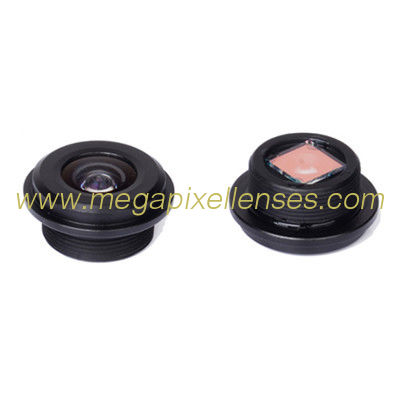 "1/4"" 0.9mm M12*0.5 mount 170degree wide angle lens for vehicle rear-view mirror"