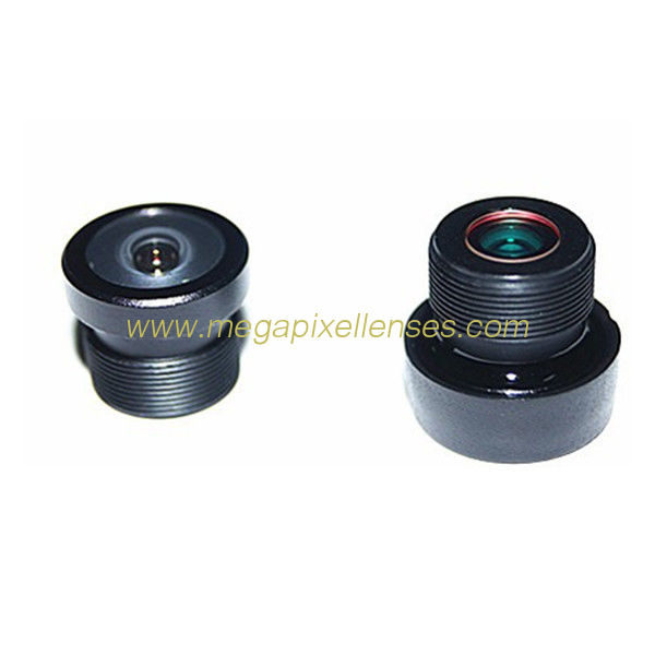 "1/4"" 1.3mm M12/M8-mount 200degree wide-angle fisheye lens for PC1089 OV10635"