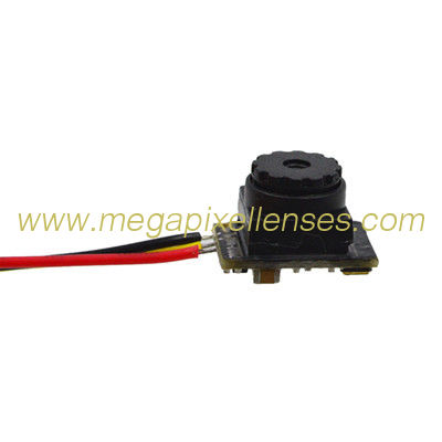 "Mini HD camera module, 1/4"" CMOS 8mm wide 0.35MP , DC3.5V~5V"