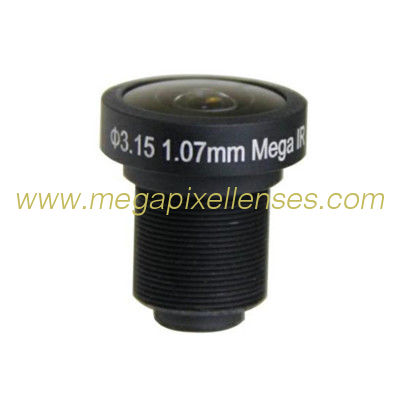 "1/3"" 1.07mm 5Megapixel M12x0.5 mount 185degree IR Fisheye Lens for OV5653/AR0330 Sensor"