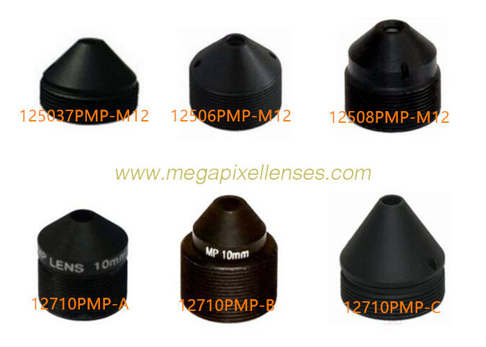 ECONOMIC 2MP/3MP M12x0.5 Mount Pinhole Lenses for covert cameras, 3.7/6/8/10/12/15/16/22/30/35/45/70mm