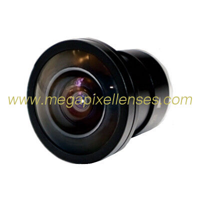"1/2"" 1.4mm F1.4 5Megapixe CS Mount 185degree IR Fisheye Lens, ecnomic good CS fisheye lens"