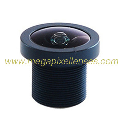 "1/2"" 1.38mm 3Megapixel M12x0.5 mount 180degree Fisheye Lens for 1/2"" 1/3"" 1/4"" sensors"