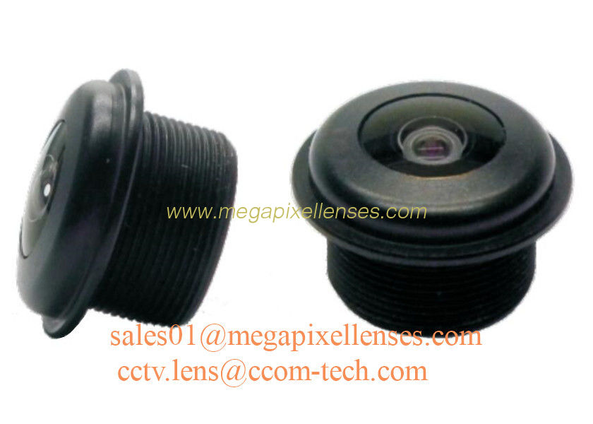 "1/3"" 1.8mm Megapixel M12x0.5 mount 200degree Waterproof Fisheye Lens, IP68 automotive camera lens"