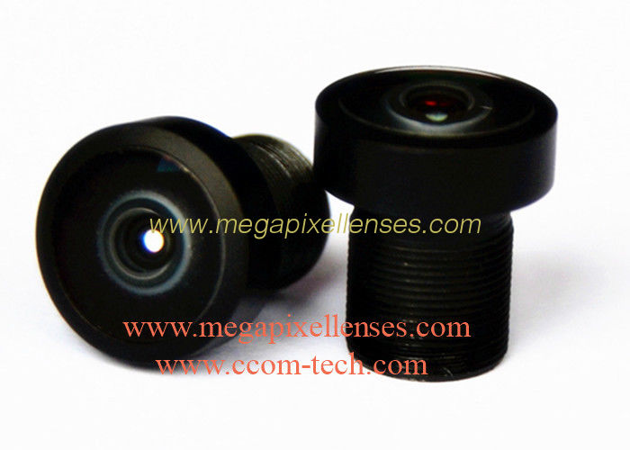 "1/4""~1/6"" 1.8mm F2.0 3MP M7/M8 mount 177degree wide-angle lens, M7 fisheye lens for OV9712/AS0260"