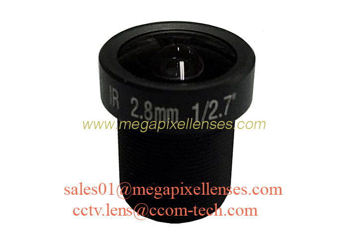 "1/2.7"" 6mm F1.2 3Megapixel M12x0.5 mount MTV IR board lens for OV4689/IMX123/AR0237/IMX290/AR0130"