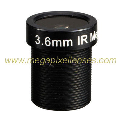 "1/3"" 3.6mm/4.2mm/6mm/8mm/12mm/16mm F1.8 Megapixel 1080P M12x0.5 Mount MTV Fixed Focal Lens"