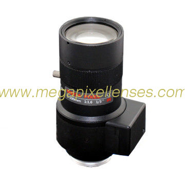 "1/2.7"" 5-100mm F1.6 Megapixel DC Auto IRIS Manual Zoom CS-mount Vari-focal Lens, 20X Zoom Lens"