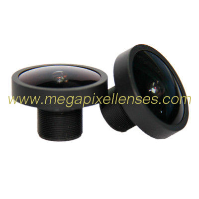 "1/2.7"" 2.7mm F2.0 5Megapixel M12x0.5 mount 158degree wide angle lens for OV2710/AR0330"