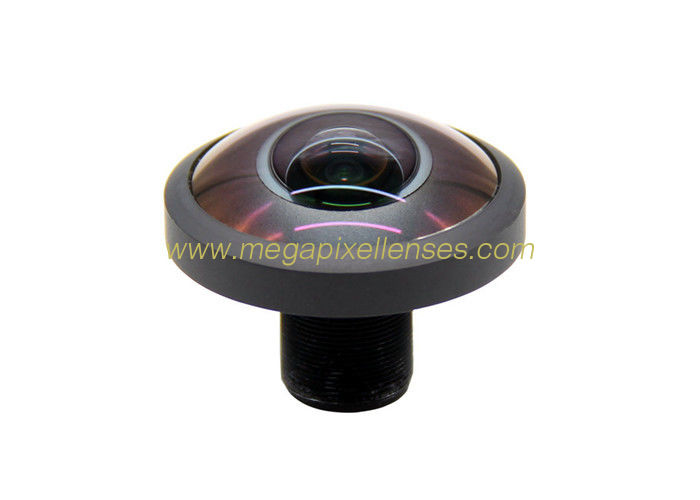 "1/3"" 1.0mm F1.2 12Megapixel M12x0.5 mount 243degree Fisheye Lens for OV4689, Drone UAV 360VR lens"