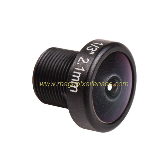 "1/3"" 2.1mm F2.0 Megapixel M8x0.5 mount 160degree wide angle cctv lens"