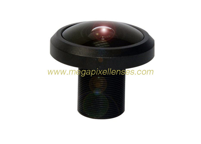 "1/2.3"" 1.55mm 12Megapixel M12x0.5 mount 195degree Fisheye Lens for IMX172/IMX178/IMX185/OV21840/OV23850"