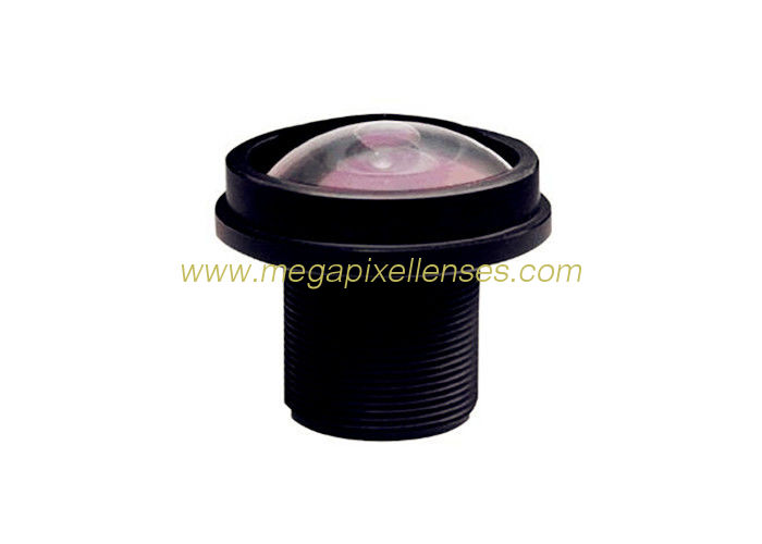 "1/2.7"" 2.1mm F2.0 5Megapixel M12x0.5 Mount 190degree Wide Angle Fisheye Lens"