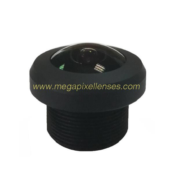 1.24mm 5Megapixe M12x0.5 Mount 205degree Fisheye Lens for Image format Φ3.1mm sensors