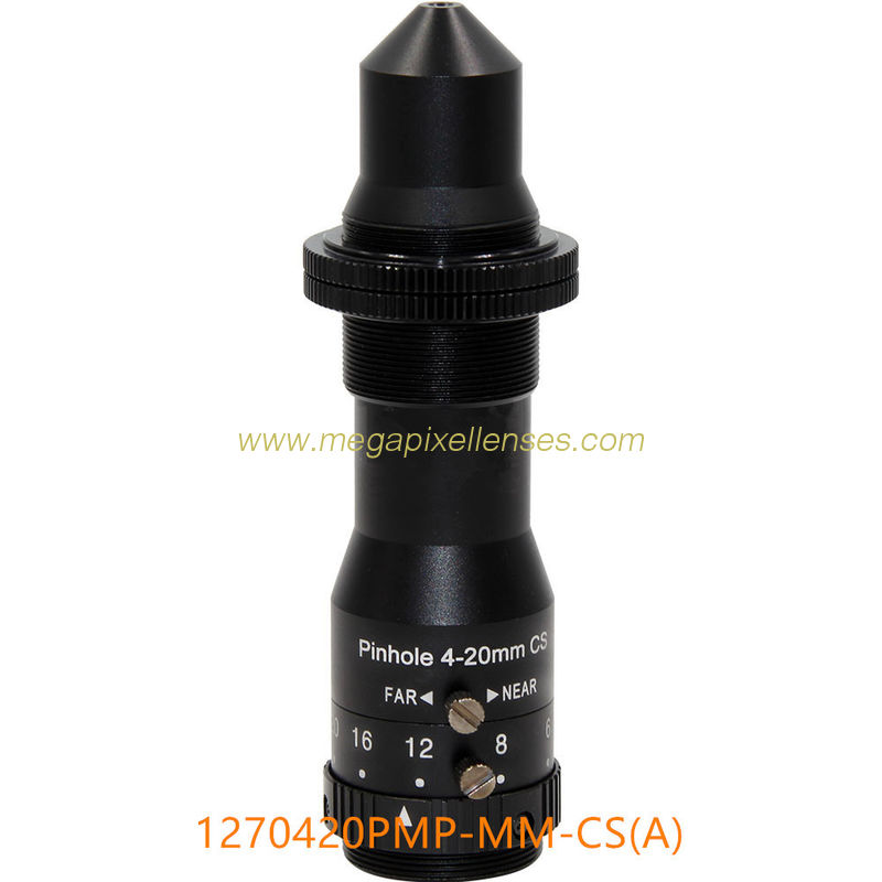 CCTV 2.8mm CS Manual Iris Pinhole Lens