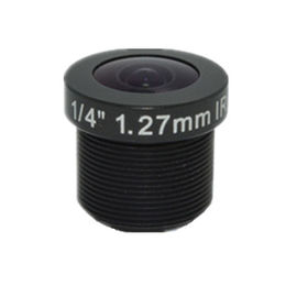 "China 1/4"" 1.27mm 5Megapixel M7/M12 185degree Mini IR Fisheye Lens, 1.27mm fisheye lens for OV4689 factory"