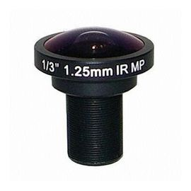 "China 1/3"" 1.25mm 5Megapixel S-mount M12 Mount 185degree IR Fisheye Lens, 5MP Panoramic camera lens factory"