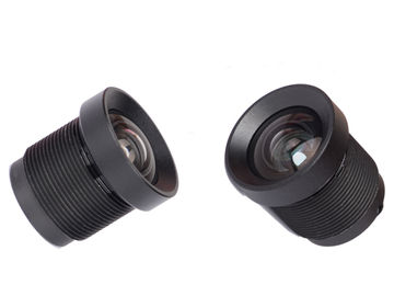 "China 1/3.2"" 2.7mm 2Megapixel S-mount M12x0.5 mount low-distortion wide angle lens, MT9D111 lens factory"