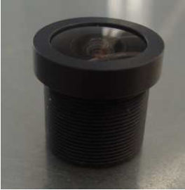 "China 1/3"" 2.1mm megapixel M12X0.5 mount 150degrees wide angle cctv lens factory"