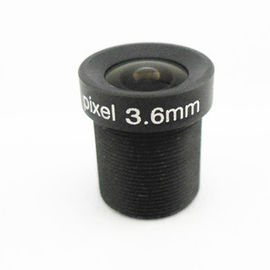 "China 1/3"" 3.6mm Megapixel M12*0.5 Mount wide angle IR CCTV lens factory"