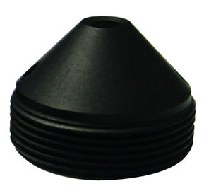 "China 1/4"" 2.1mm F2.4 Megapixel M12x0.5 Mount 130degree Wide Angle Sharp Cone Pinhole Lens for covert cameras factory"