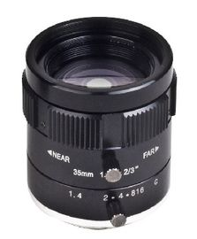 "China 2/3"" 35mm F1.4 5Megapixel Low-distortion C Mount Lens for Traffic Monitoring factory"