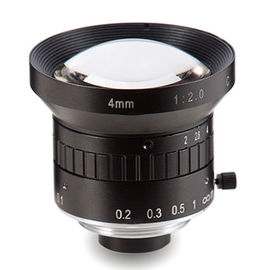 "China 1/2"" 4mm F1.4 1.3Megapixel Manual IRIS Low-distortion C-mounted Lens factory"