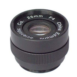 China 25mm F4.0 Industrial C mount Lens, Format φ14 F4.0~Close C mount Lens factory
