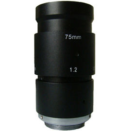 "China 2/3"" 75mm F2.8 3Megapixel Industrial C mount Lens with Format φ11 for 2/3"" φ8 for 1/2"" factory"