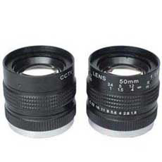 "China 1/2"" 50mm F1.8 Industrial C mount Lens,  F1.8~Close Manual IRIS C mount Lens factory"