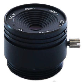 "China 1/2.5"" 6mm F1.8 3Megapixel CS-mount IR CCTV Lens 1250618IRCS-3MP factory"