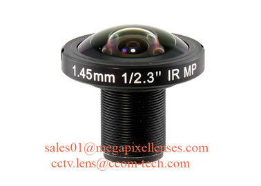 "1/1.8"" 1/2.3"" 1.45mm 10Megapixel S mount M12 190degree Fisheye Lens for IMX178 IMX226, Drone UAV 360VR lens"
