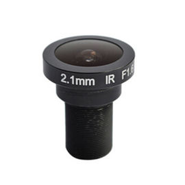 "China 1/2"" 2.1mm F1.6 5Megapixel M12x0.5 mount 186degree Fisheye Lens for 1/2"" 1/3"" sensors factory"