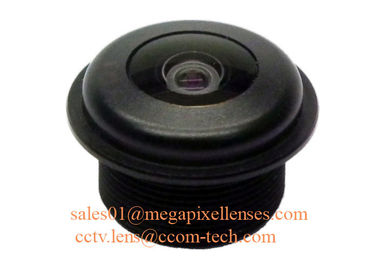 "China 1/3"" 1.6mm Megapixel M12x0.5 mount 200degree Waterproof Fisheye Lens, IP68 automotive camera lens factory"