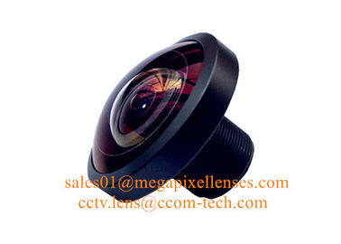 "China 1/3"" 2.7mm 8Megapixel M12x0.5 mount 220degree Fisheye Lens, 2.7mm fisheye lens 360VR lens factory"